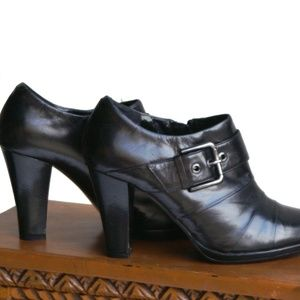 Franco Fortini Shoes - Franco Fortini Leather Bootie S Size 9M